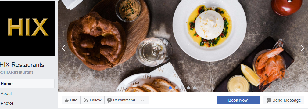 Restaurant Facebook Cover Photo