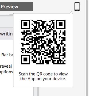 App Preview QR Code