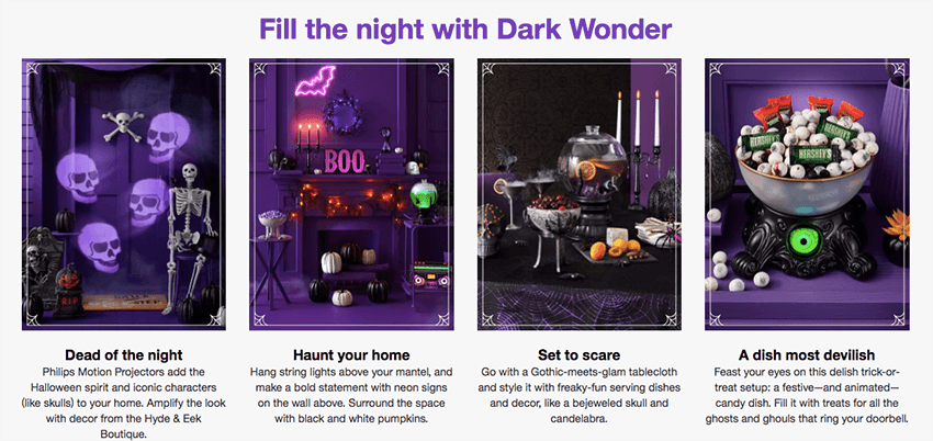 Halloween Marketing Target