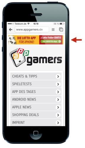 banner ad app