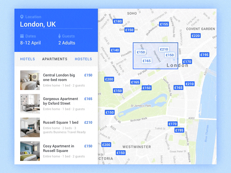 Hotels in London Google