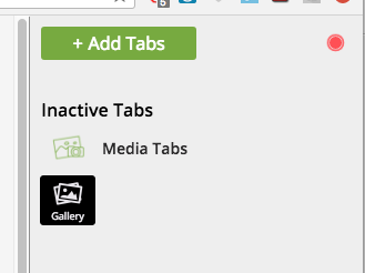 Inactive Tabs