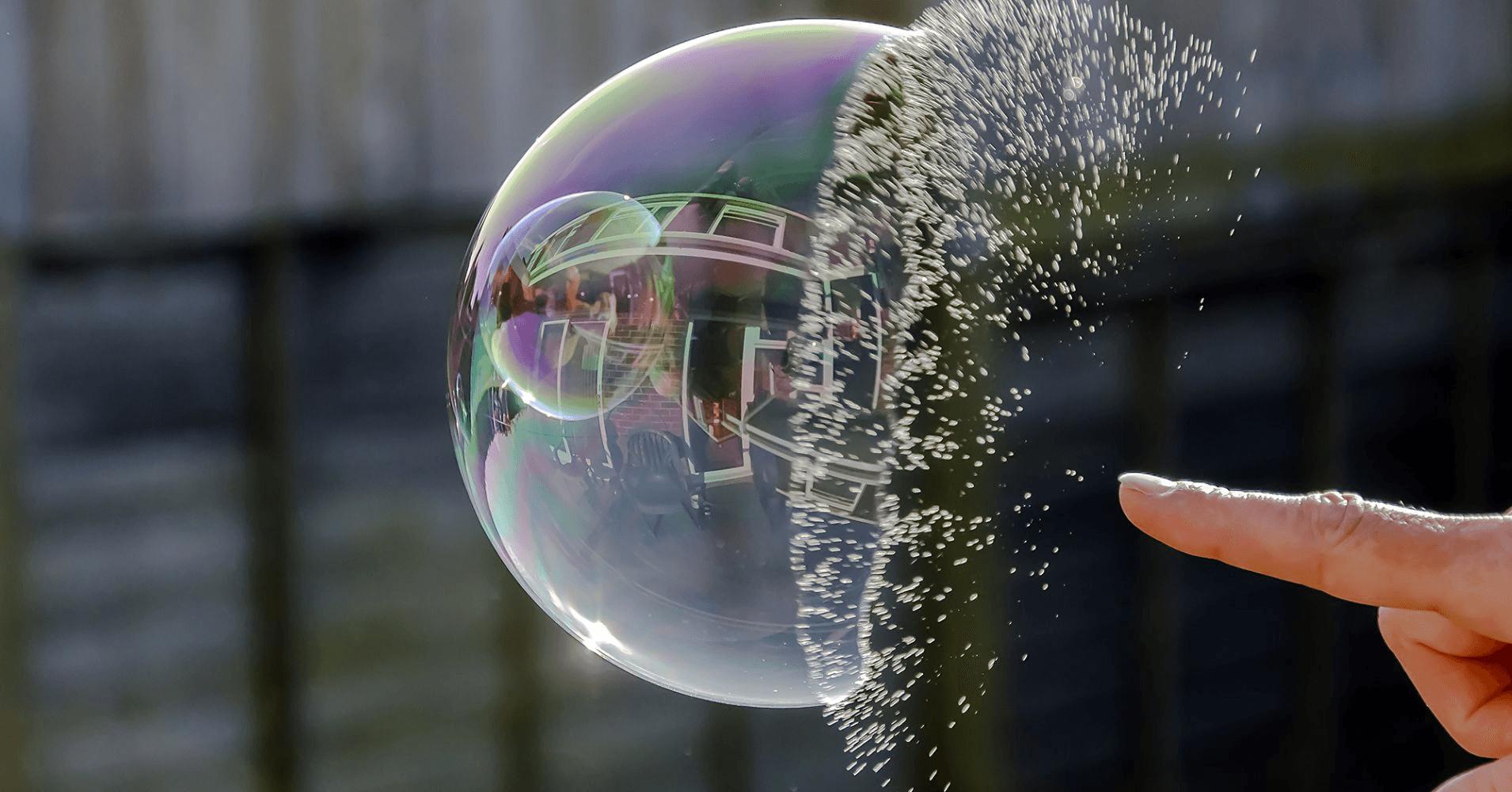 Bursting Bubble
