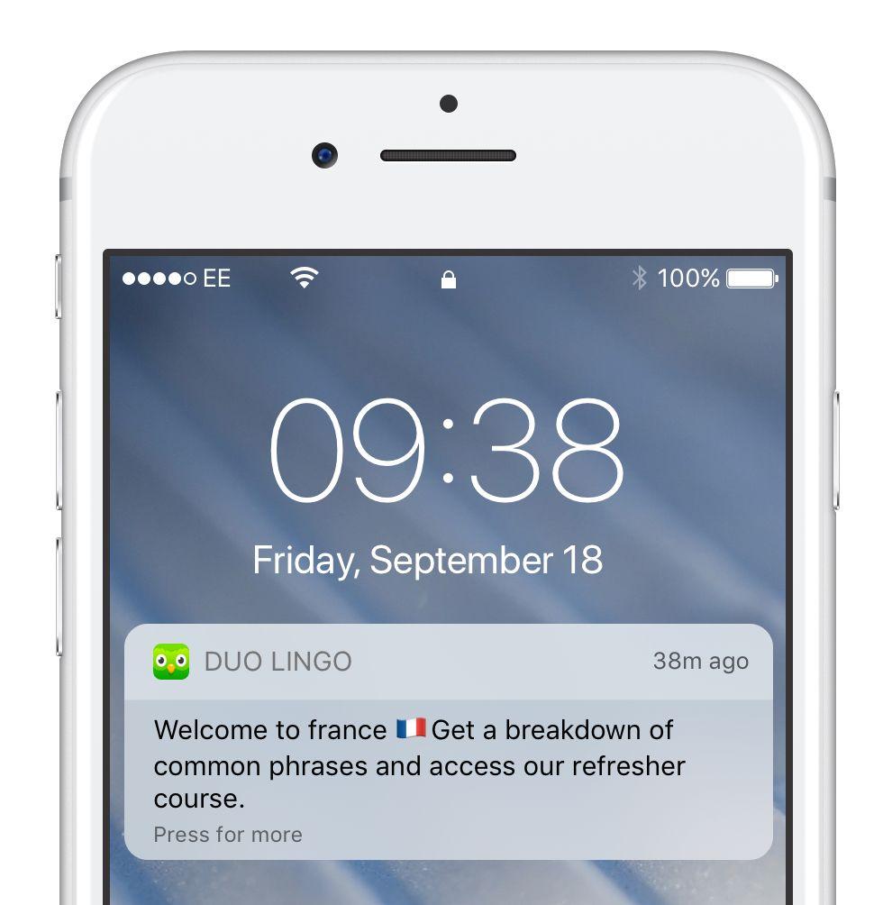duolingo push notification