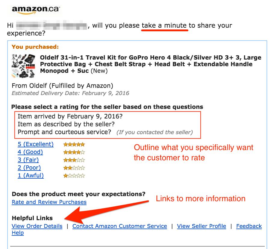 Encourage User Reviews