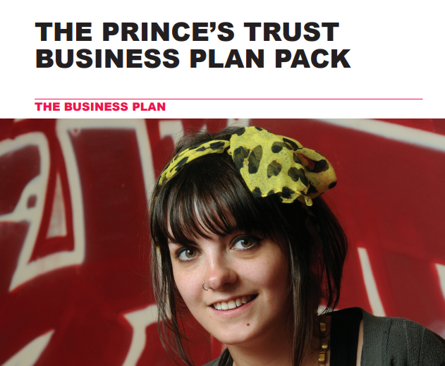 Princes Trust Business Plan Pack