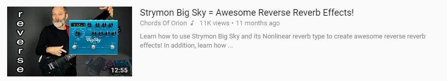 strymon big sky review