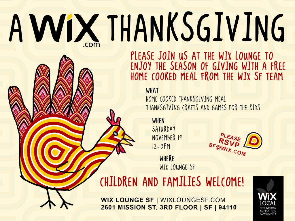 Wix Thanksgiving Meal