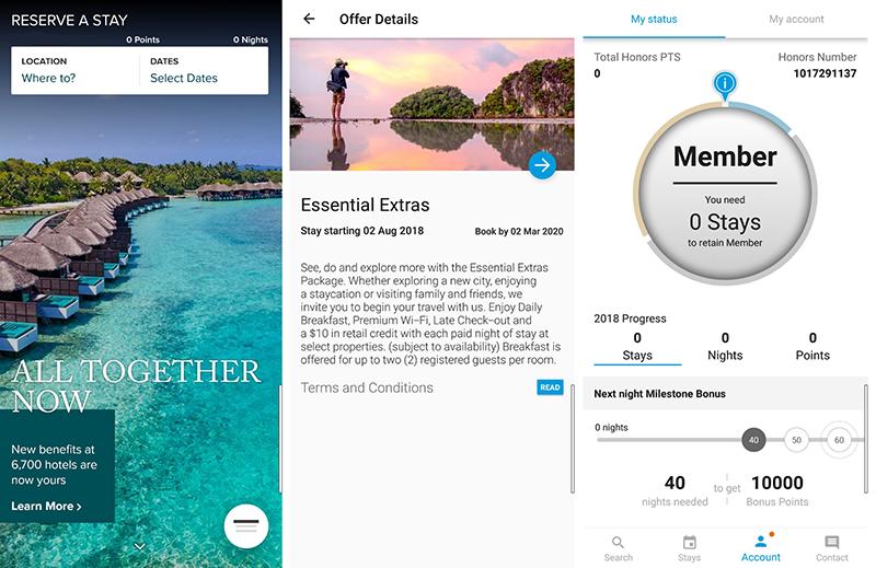 Hilton Hotel Booking App