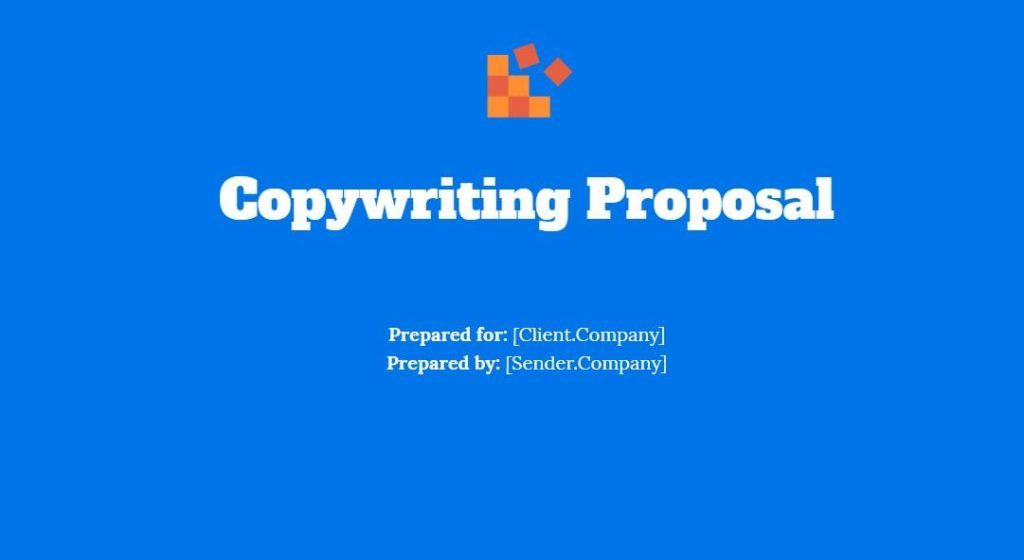 copywriting proposal template 2