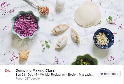 Dumpling Making Class