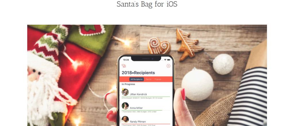santas bag christmas app
