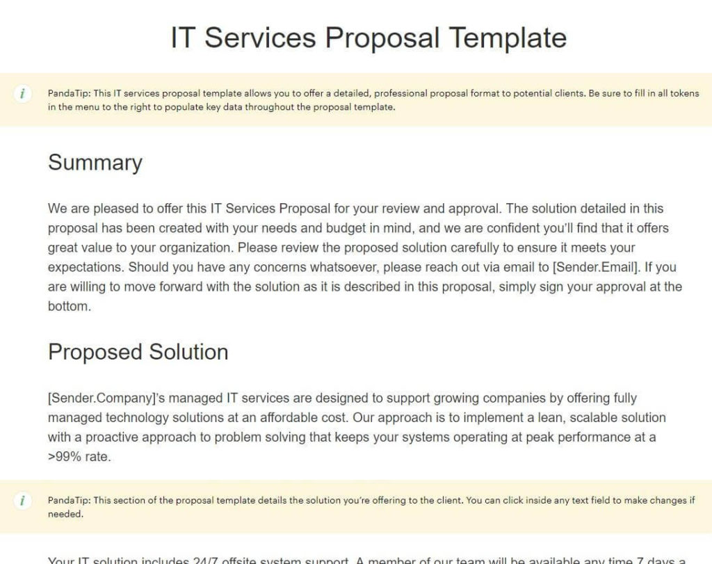 how to write a business proposal in 2019  6 steps   15