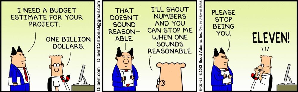 Dilbert Budget Comic