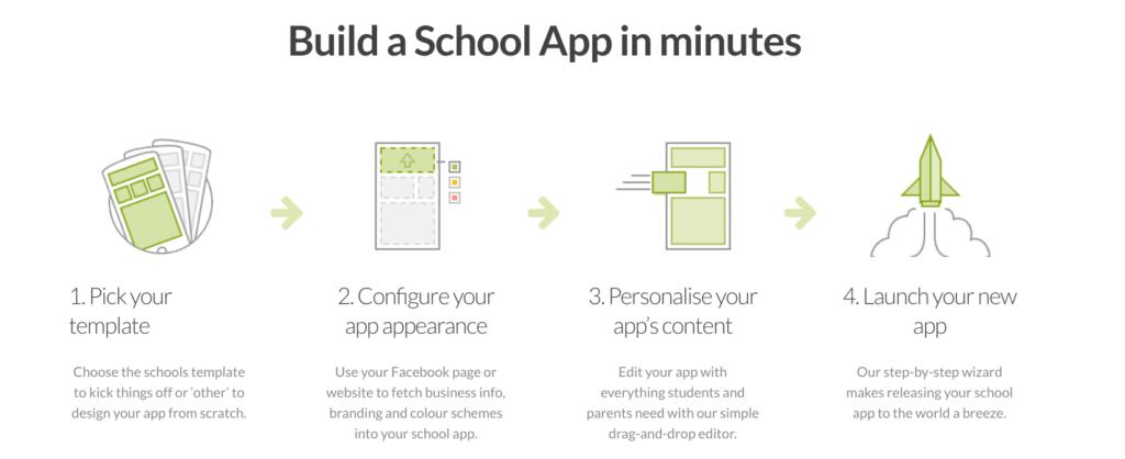 Build a School App in Minutes