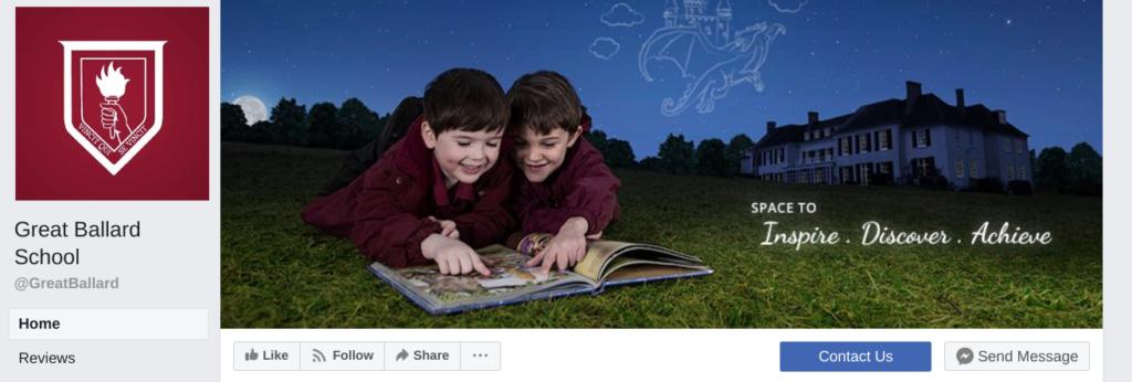 School Facebook Branding