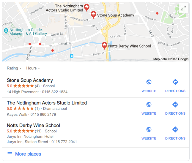 local seo pack for schools near me