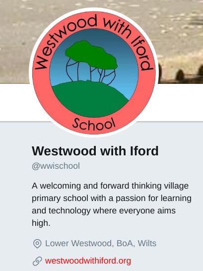 school twitter bio