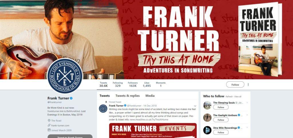 frank turner twitter