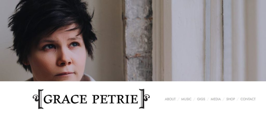 Grace Petrie Musician Website