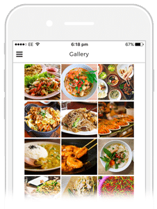 gallery tab example
