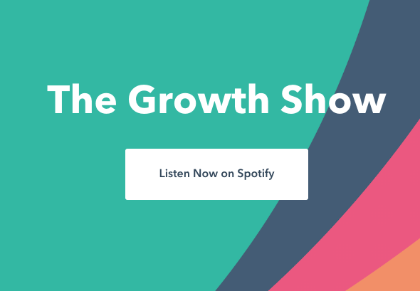 The Growth Show Podcast Landing Page