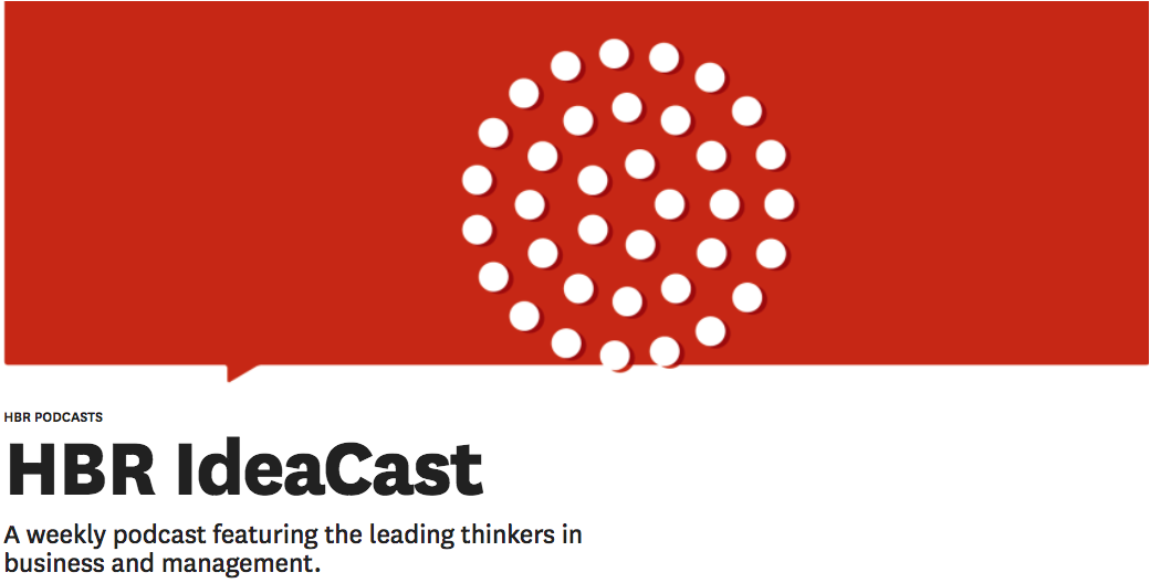 hbr podcast landing page