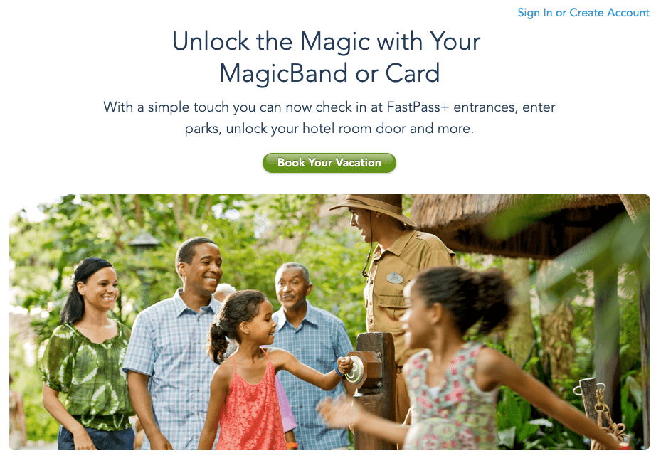 disney magicband omnichannel marketing example