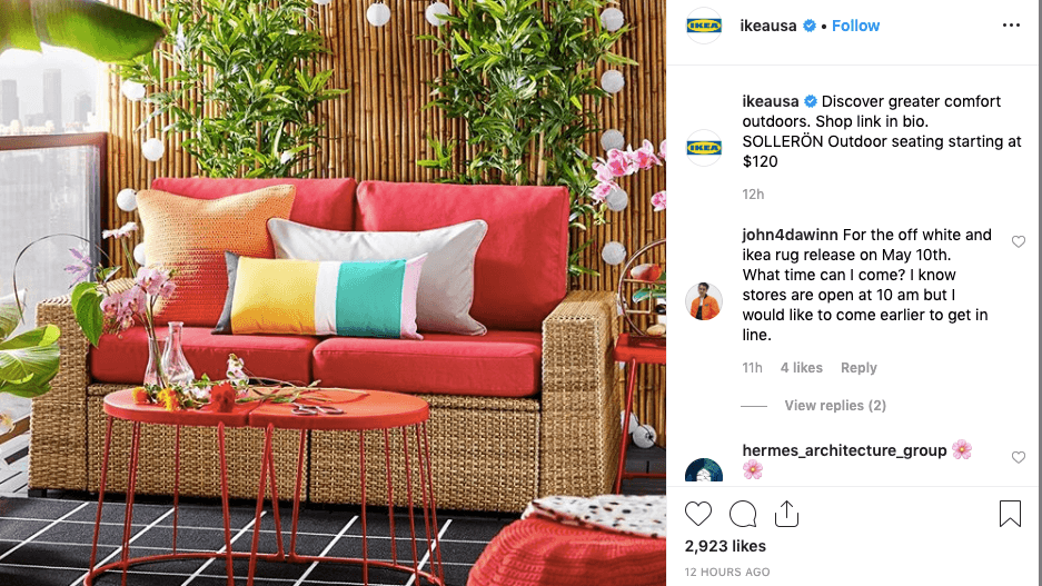 IKEA Instagram Omnichannel Marketing Example