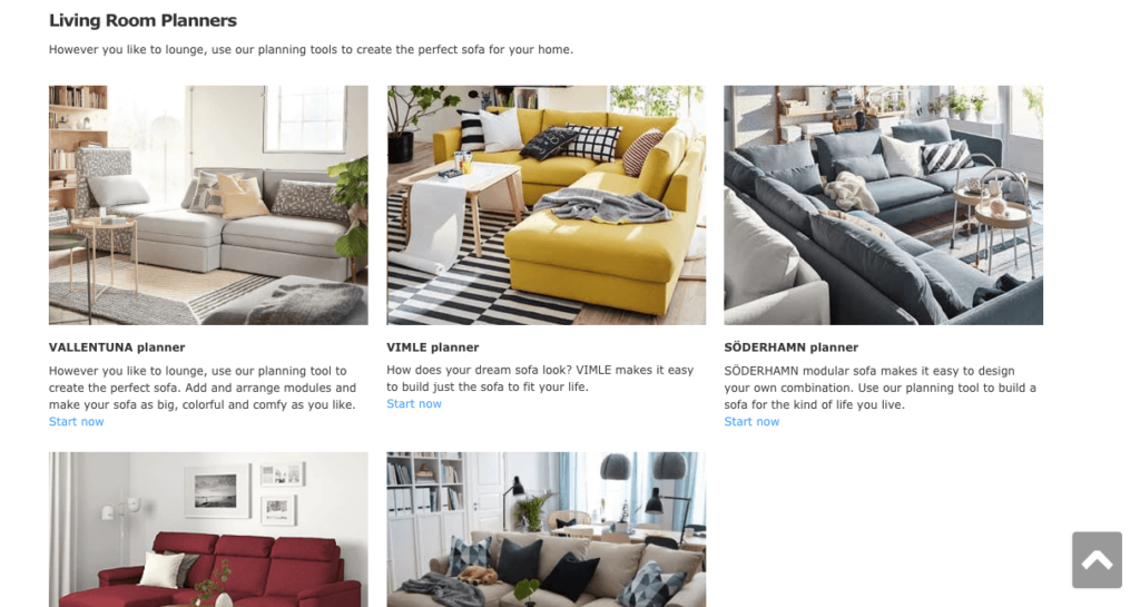IKEA Planning Tool Omnichannel Marketing Example