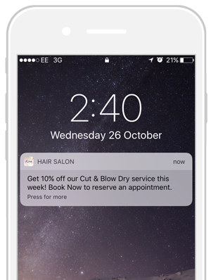 increasing app loyalty with push notifications