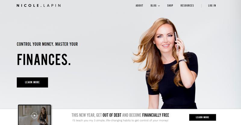 Nicole Lapin's Website