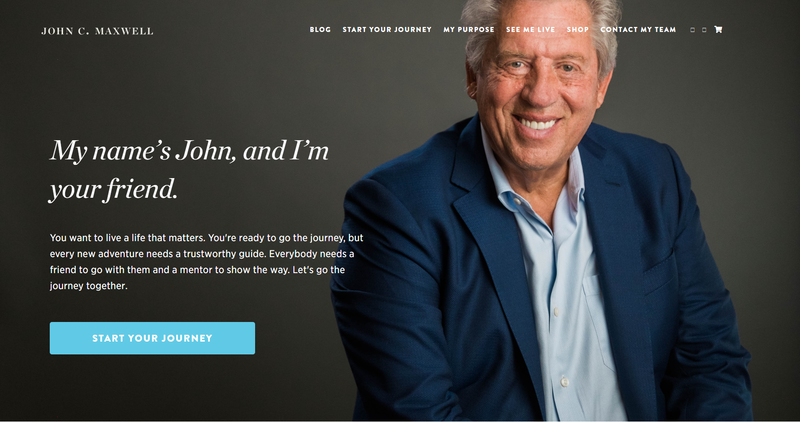 john maxwell's website
