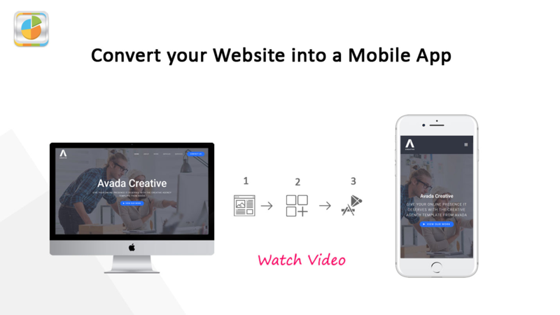 converting a website into a mobile app step by step
