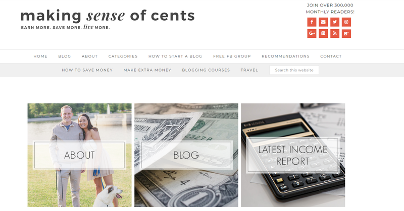 making sense of cents website