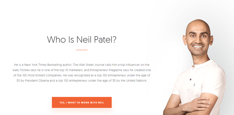 neil patels website