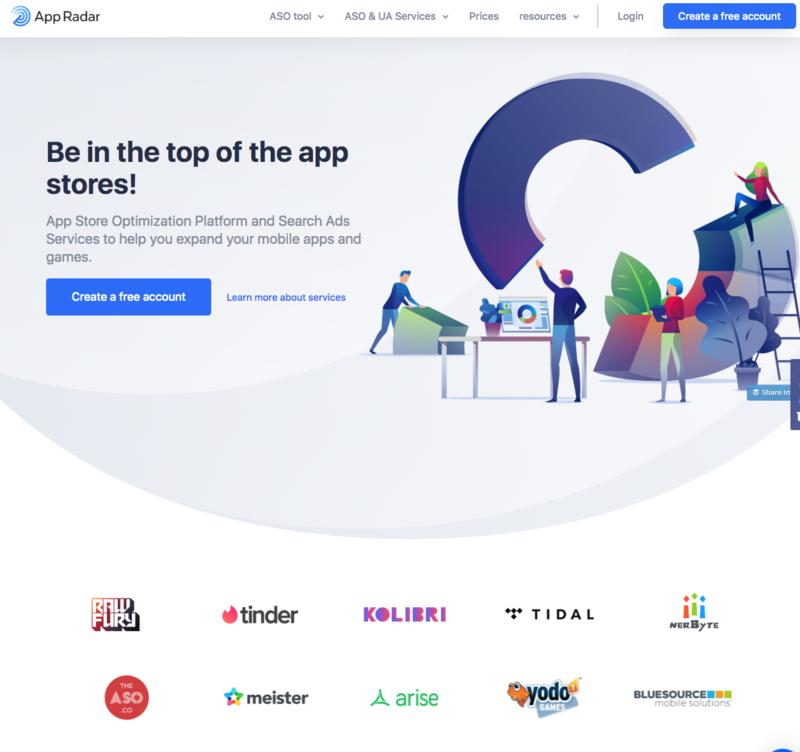 appradar app store optimization platform