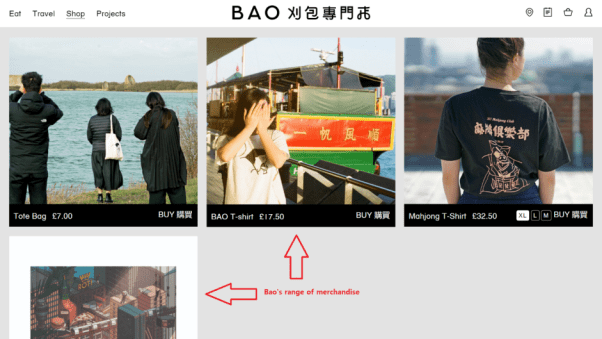 Bao Restaurant Website