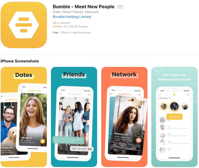 bumble app store optimization