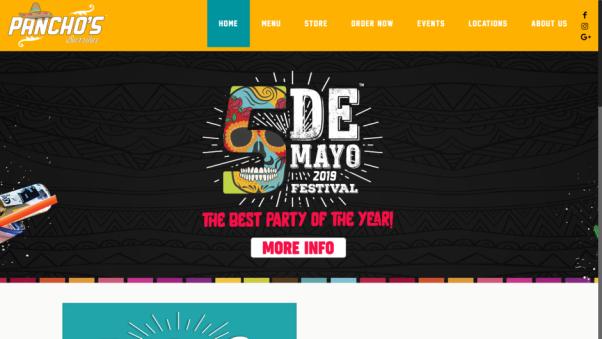 pancho's restaurant website