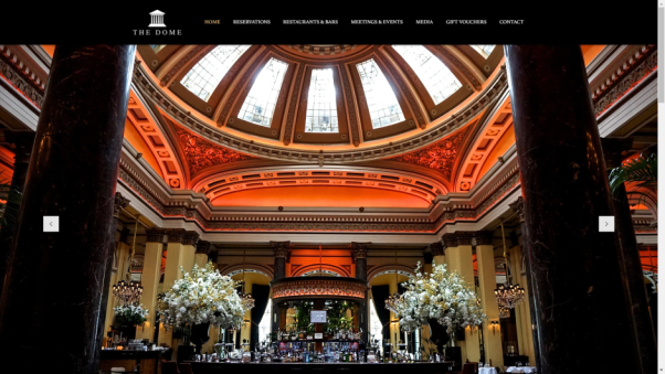 the dome restaurant website