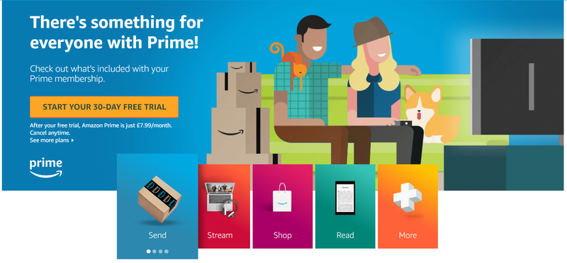 amazon prime loyalty service
