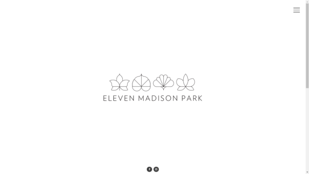 eleven madison park restaurant landing page
