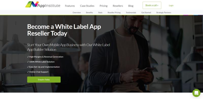 Appinstitute Appbuilder White Label Landing Page