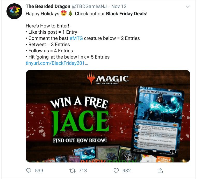 Twitter Black Friday Deals on a Tweet