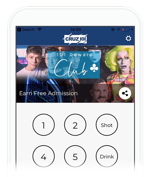 nightclub loyalty card app