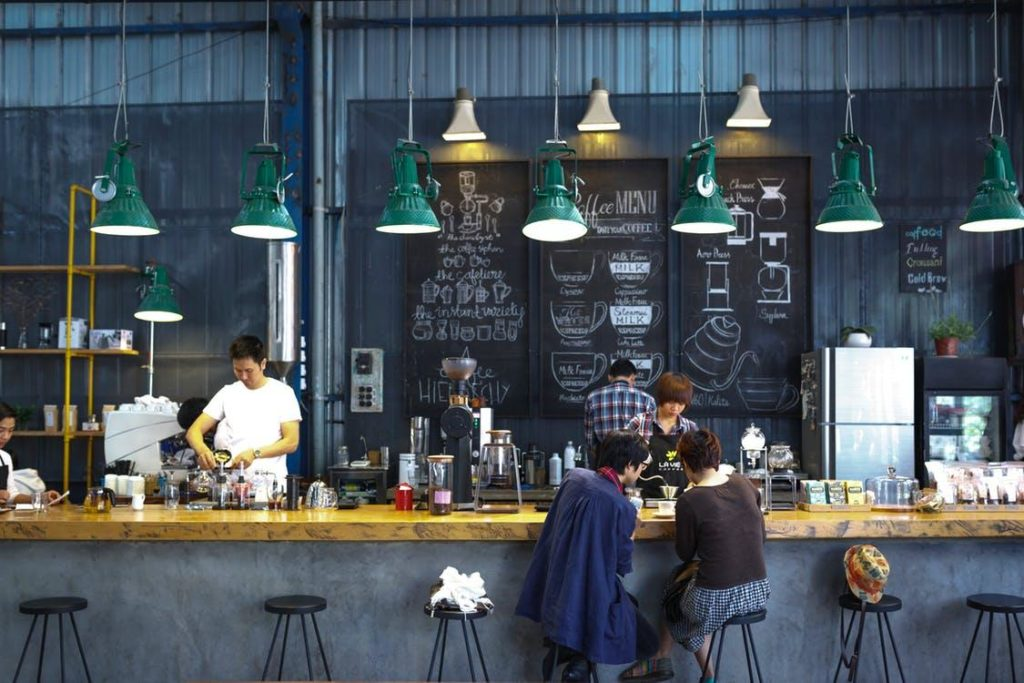 Trendy Coffee Shop
