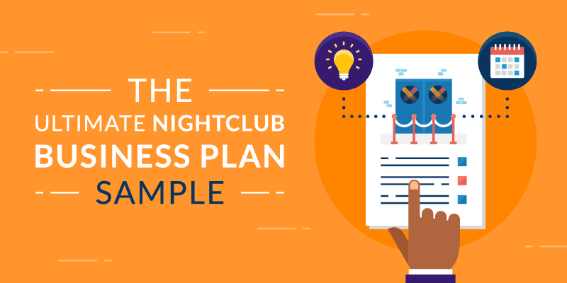 Orange Nightclub Business Plan Banner
