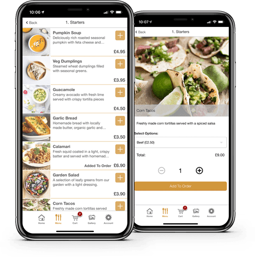 restaurant apps food ordering