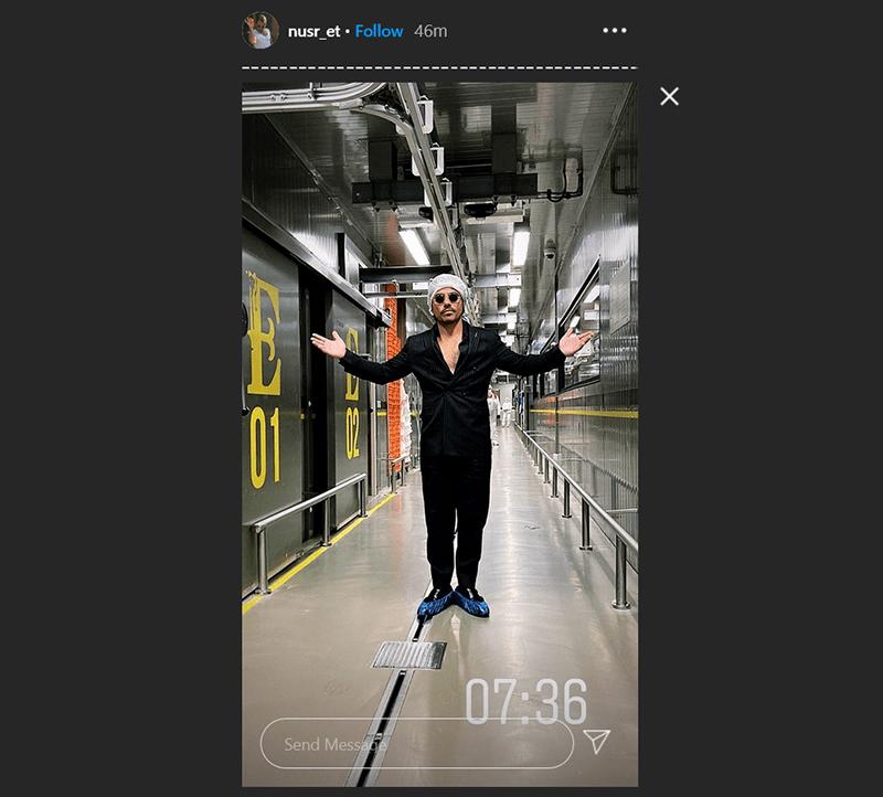 Nusr ET Instagram